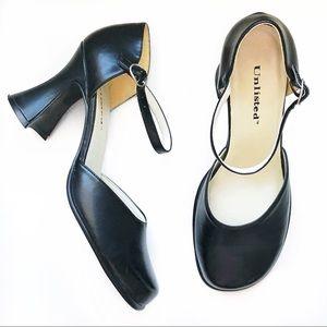 UNLISTED Vintage Black Mary Jane High Heels 10